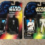 Figurine StarWars : Stars Wars The Power Of The Force Luke Stormtrooper And Darth Vader Figurines