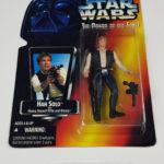 StarWars figurine : Star Wars Figurine Han Solo KENNER POTF 1995