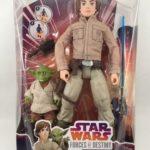 Figurine StarWars : NEW Star Wars Luke Skywalker and Yoda Forces Of Destiny Adventure Figurine