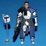 StarWars figurine : Star Wars Legacy Arc Trooper Bleu Desseré Complet