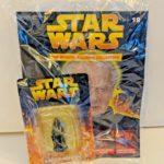 StarWars figurine : DE AGOSTINI - STAR WARS - PALPATINE - DIE CAST FIGURINE & MAGAZINE #19 - NIB