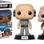 StarWars figurine : Funko Set 3figurines Pop Star Wars Lobot Ugnaught and Bespin Guard Exclusive