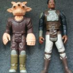 Figurine StarWars : LOT 2 FIGURINES STAR WARS VINTAGE DE 1982 et 1983 : REE YEES ET LANDO CALRISSIAN