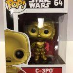 StarWars collection : Star Wars C-3PO avec / Rouge Bras Pop! Vinyle Figurine #64 Funko #64