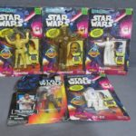 StarWars collection : Nouveau Lot Of 5 Star Wars Courbé Ems Figurine Articulée Set Kenner Justoys