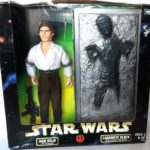 StarWars collection : Star Wars HAN SOLO Action Figurine CARBONITE BLOCK Kenner factory sealed 1998