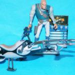 Figurine StarWars : Star Wars Clone Wars Castas & Speeder Vélo Ample Complet