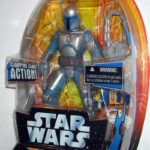 Figurine StarWars : Star Wars Force Battlers Jango Fett 7 Inch 18cm Figurine 2005 Hasbro Rare