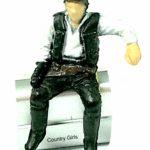StarWars figurine : A5 Star Wars Han Solo Sitting Mos Eisley Cantina Figurine Micro Machines Galoob