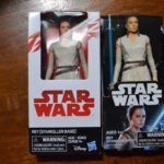 StarWars figurine : 2 LOT STAR WARS DISNEY HASBRO 5.5 INCH REY (STARKILLER BASE ACTION TOY FIGURINES