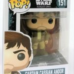 StarWars collection : Funko Pop!  Star Wars Captain Cassian Andor Vinyl Figure Toy