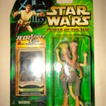 StarWars collection : STAR WARS POWER OF THE JEDI Figurine FODE and BEED PODRACER ANNOUNCER