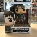 StarWars figurine : Funko POP! Vinyl Star Wars Rogue One Captain Cassian Andor Model Figurine No 139