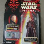 StarWars collection : Star Wars Episode I ~ Queen Amidala Figurine ~ With Blaster Pistols & Comm Chip