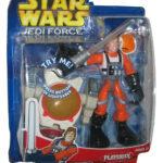StarWars figurine : Star Wars Jedi Force Playskool Skywalker Luke Figure W/Lumineux