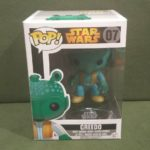 Figurine StarWars : Figurine Vinyl Bobble Head Funko Pop Star Wars 07 Greedo