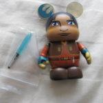 """StarWars figurine : Vinylmation Disney Star Wars Rebel Séries Ezra Bridger Vinylmation 3 """" Figurine"""