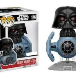 Figurine StarWars : Funko POP! Star Wars DARTH VADER with TIE FIGHTER #176 Vinyl Figurine