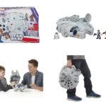 Figurine StarWars : Playskool Heroes Star Wars Galactic Heroes Millennium Falcon et Figurines