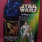 Figurine StarWars : STAR WARS HOTH REBEL SOLDIER - THE POWER OF THE FORCE - ANNEE 1996 - REF 4302