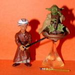 Figurine StarWars : Star Wars Saga Yoda & Padawans Desseré Complet