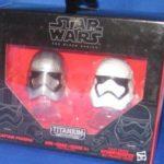 StarWars figurine : Star Wars Noir Titane Séries 2 Casques Force Awakens Capt Phasma