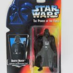 "StarWars collection : Kenner Star Wars Darth Vader The Power of the Force 3 3/4"" Tall Figurine 1995"