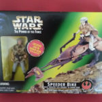 StarWars collection : STAR WARS SPEEDER BIKE LEIA - THE POWER OF THE FORCE - ANNEE 1997 - REF 3992