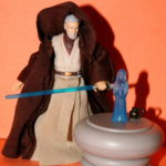 StarWars collection : Star Wars Legacy Obi-Wan & Holo Table Desseré Complet