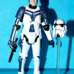StarWars figurine : Star Wars Legacy Stormtrooper Commandant Desseré Complet