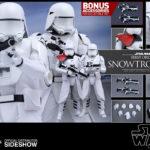 StarWars collection : Hot Toys Star Wars le Réveil de la Force First Order Snowtrooper 2 Pack en Stock