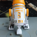 StarWars collection : Star Wars R5-A2 Astromech Droid build a droid The Legacy Collection RARE Complet