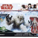 StarWars figurine : STAR WARS Figurine Pack de 2 Wampa Et Luke Hoth 10 cm, E1689