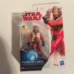 "Figurine StarWars : Star Wars Force Link-c'ai threnalli 3.75"" ACTION FIGURE, neuf, Hasbro 2017"