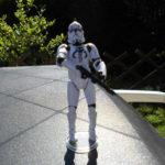 StarWars figurine : star wars  figurine clone trooper mandalorian