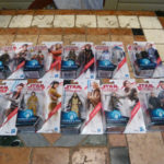 StarWars figurine : LOT 10 FIGURINES STAR WARS FORCE LINK - ETAT NEUF SOUS BLISTER.