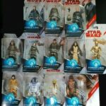 Figurine StarWars : STAR WARS lot de 12 figurines Force Link en blister NEUF yoda c3po luc chewbacca