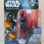 StarWars collection : Figurine Star Wars Rogue One Imperial ground crew armes Disney Hasbro Neuf