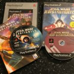 2 x PLAYSTATION 2 PS2 STAR WARS GAMES BUNDLE - Bonne affaire StarWars