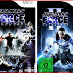 WII STAR WARS FORCE UNLEASHED 1 + 2 *2 GAMES  - jeu StarWars
