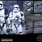 StarWars figurine : Star Wars pack de 2 figurines 1/6 First Order Stormtrooper + FOS Officer 902604