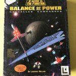 Lot jeux pc big box Balance of Power,xwing vs - Occasion StarWars