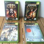 Bundle 4 Jeux Star Wars - Microsoft XBOX - - Occasion StarWars