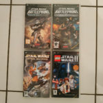 Lot de 4 jeux Star Wars sur PSP PAL FR - Bonne affaire StarWars
