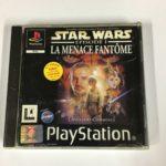 Jeu Ps1 Complet Star Wars La Menace Fantome - pas cher StarWars