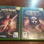 LOT 2 JEUX STAR WARS KNIGHTS OF THE OLD - pas cher StarWars