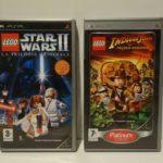 Lot de 2 Jeux Lego / Sony PSP Version FULL FR - pas cher StarWars