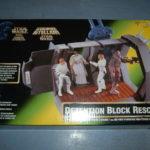 Figurine StarWars : STAR WARS VINTAGE DIORAMA (c)1997 KENNER - DETENTION BLOCK RESCUE (neuf)