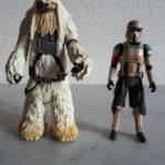 StarWars figurine : Lot 2 figurines Star Wars Moroff & Scarif Stormtrooper - Bon Etat