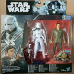 StarWars collection : STAR WARS ROGUE ONE pack 2 figurines SNOWTROOPER OFFICER POE DAMERON neuf Disney